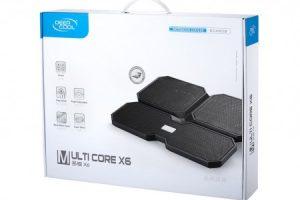 Подставка для ноутбуков с четырьмя вентиляторами охлаждения