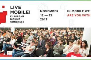 Приглашаем на конференцию Live Mobile! European mobile congress 2013