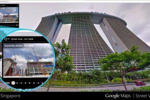 Сервис Google Street View теперь умеет путешествовать во времени
